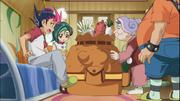 Haru asks Yuma to do an errand for her