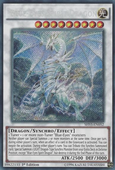 Blue-Eyes Spirit Dragon