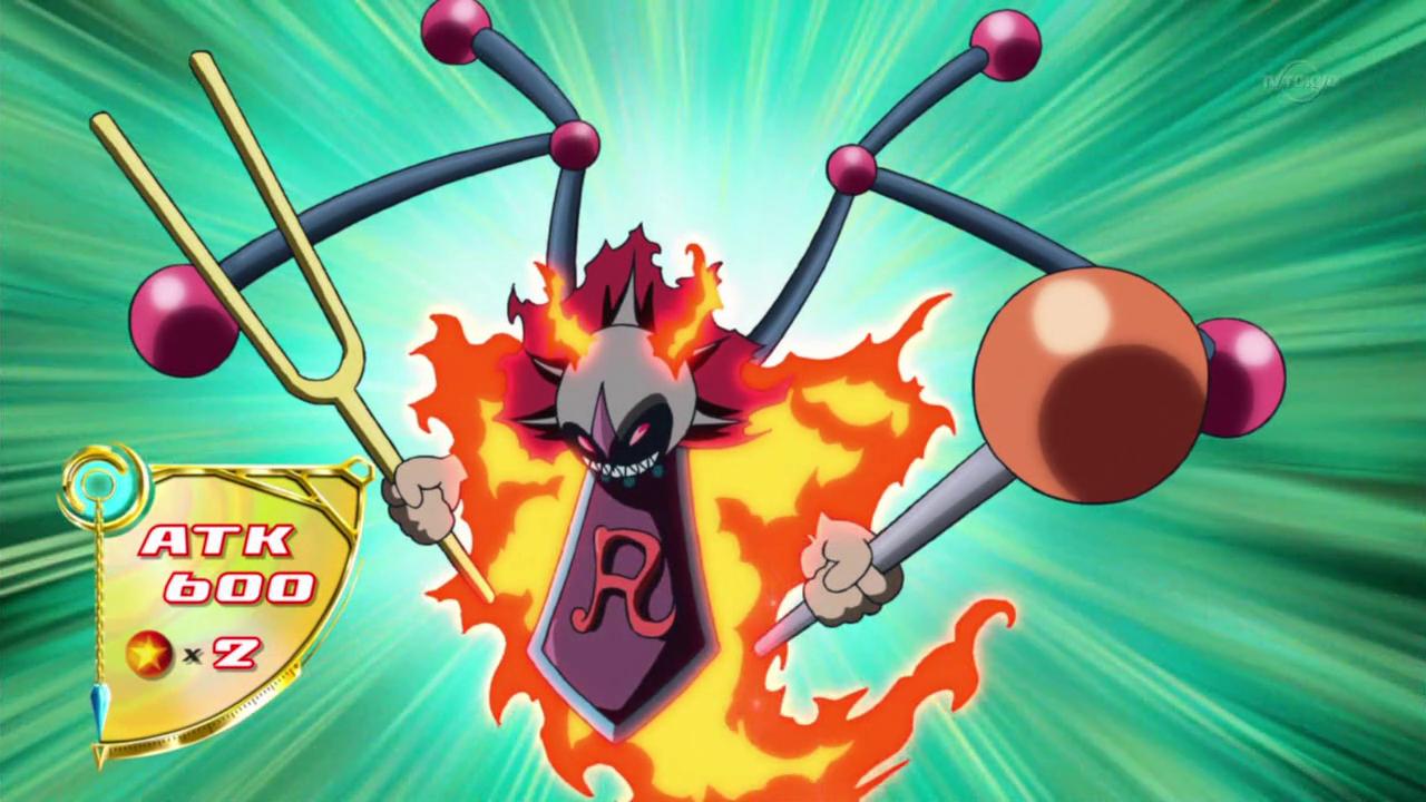 Red Resonator  Anime