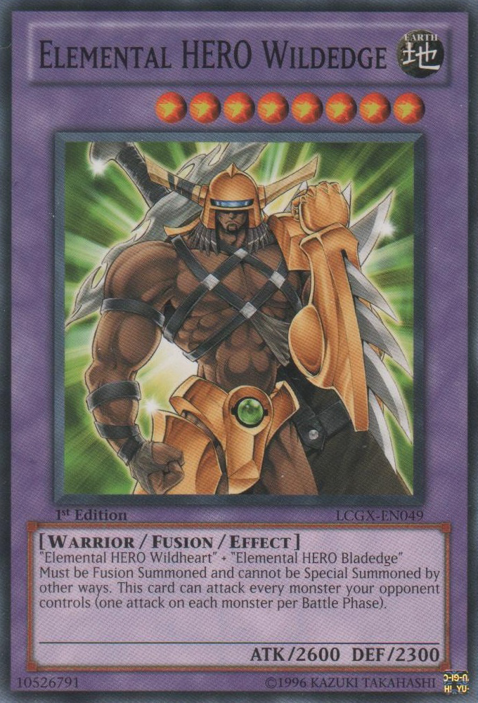 Elemental Hero Wildedge Yu Gi Oh Fandom Powered By Wikia