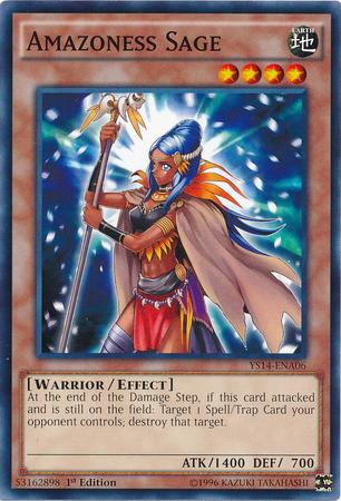 Amazoness Sage Yu Gi Oh Fandom Powered By Wikia