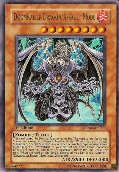 card tipsdoomkaiser dragonassault mode yugioh