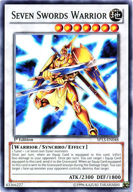 seven swords warrior yugioh fandom powered by wikia