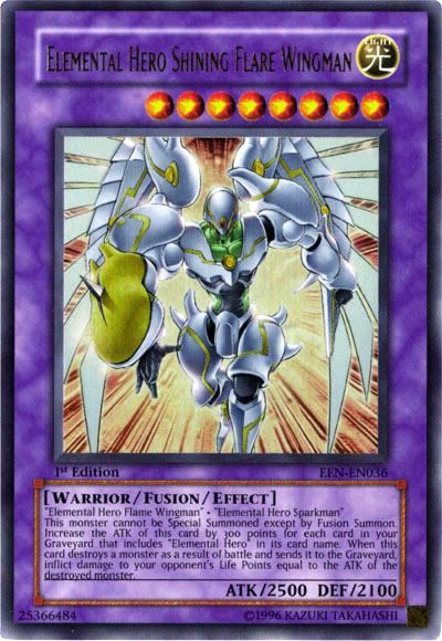 Elemental HERO Shining Flare Wingman | Yu-Gi-Oh! | FANDOM ...Elemental Hero Shining Flare Wingman Deck
