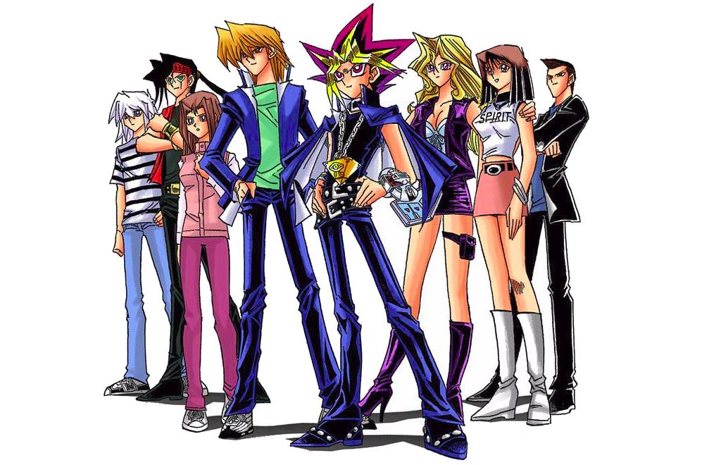 File - Yu-Gi-Oh! manga characters - Battle City.png | Yu ...