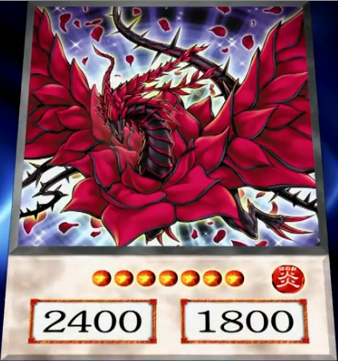 Are right. yu gi oh black rose dragon not hear