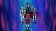 Yuto, Yugo, and Yuri inside Yuya