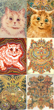 Louis wain cats