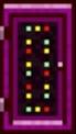 Neon World's Door