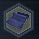 D blue fabric s