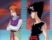 Hiei and mukuro 1