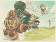 Spirit Tracks Credits Artwork 11