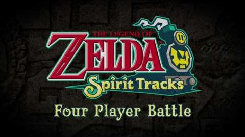 Zelda Spirit Tracks Battle Mode