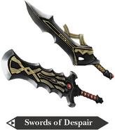 Hyrule Warriors Great Swords Swords of Despair (Render)