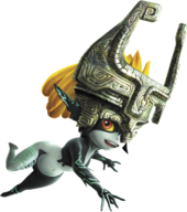 Hyrule Warriors Legends Midna Twilight Princess Midna (Render)
