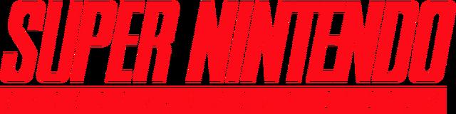 File:Super Nintendo Entertainment System (logo).png