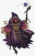 Hyrule Warriors Artwork Wizzro (Concept Art)