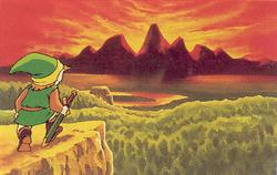 Death Mountain Artwork (The Legend of Zelda)