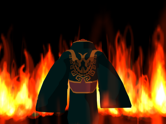 File:Ganondorf in Flames.png