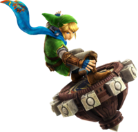 Link Spinner (Hyrule Warriors)