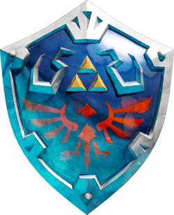 Hylian Shield Artwork (Skyward Sword)