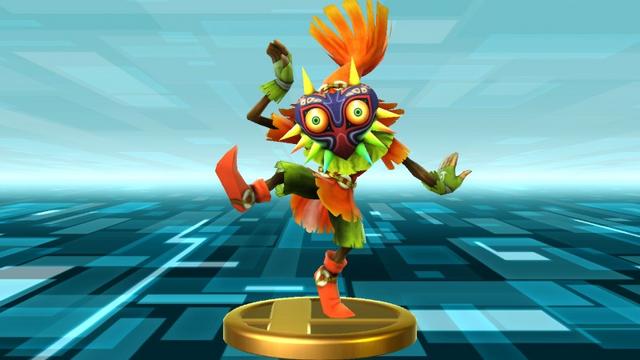 File:Super Smash Bros. for Wii U Skull Kid (Majora's Mask) Skull Kid (Trophy).png