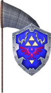 Bug-Catching Net and Hylian Shield (Soul Calibur II)