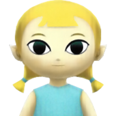 Hyrule Warriors Legends Toon Link Aryll (Portrait)