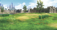 Hyrule Warriors Locations Hyrule Field (Concept Art)