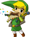 Link Playing Spirit Flute