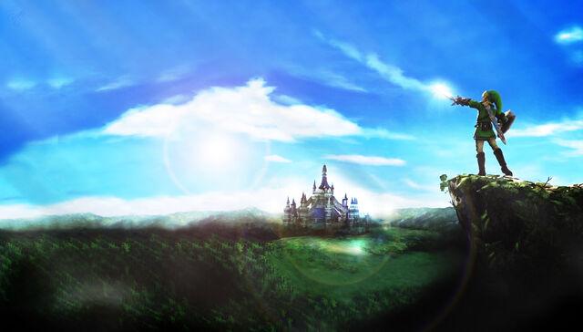File:Zelda wallpaper mountain full hd by bryansonata-d6q3v8z.jpg