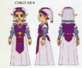 Ocarina of Time Artwork Princess Zelda - Child Era (Concept Art).png