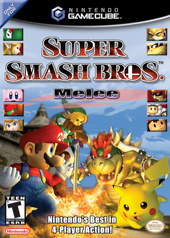 File:Super Smash Bros. Melee (North America).png