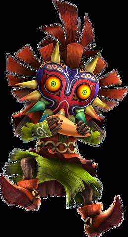 File:Skull Kid Ocarina (Hyrule Warriors).png