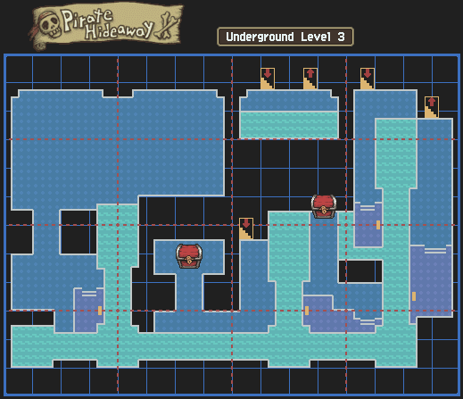 File:Pirate Hideaway Underground Level 3 Map With Chests.png