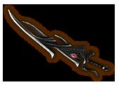 Hyrule Warriors Demon Blade True Demon Blade (Level 3 Demon Blade)