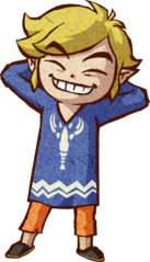 File:The Wind Waker Artwork Link - Outset Island Outfit (Artwork).png