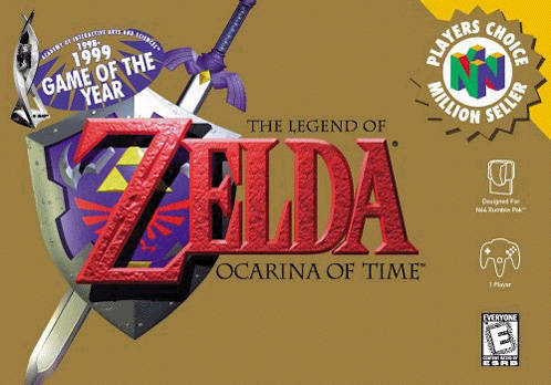File:The Legend of Zelda - Ocarina of Time (Player's Choice).png