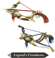 Hyrule Warriors Legends Crossbows Legend's Crossbows (Render)