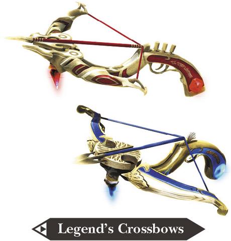 File:Hyrule Warriors Legends Crossbows Legend's Crossbows (Render).png