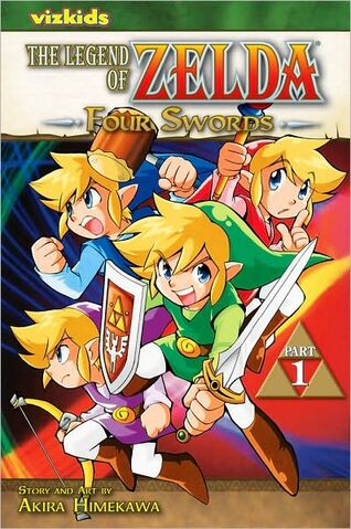 File:English Four Swords Volume 1 manga cover.jpg
