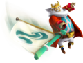 Hyrule Warriors Legends King Daphnes Nohansen Hyrule Sail (Render).png