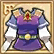 Hyrule Warriors Legends Fairy Clothing Royal Tunic - Purple (Top).png