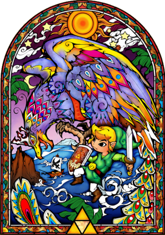 File:Link and the Helmaroc King.png