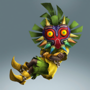 Hyrule Warriors Legends Skull Kid Standard Outfit (Koholint - Deku Scrub Recolor)