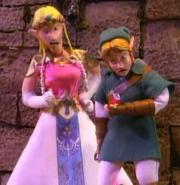 Link and Zelda (Robot Chicken)