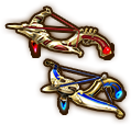 Hyrule Warriors Legends Crossbows Legend's Crossbows (Level 3 Crossbows).png