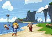 Aryll, Grandma and Link