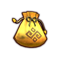 File:Hyrule Warriors Dropped Material Material Bag - Gold (Icon).png