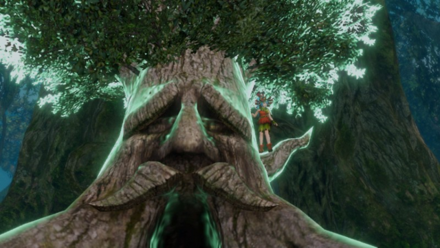 File:Hyrule Warriors Spear Lana's Victory Cutscene (feat. Great Deku Tree).png